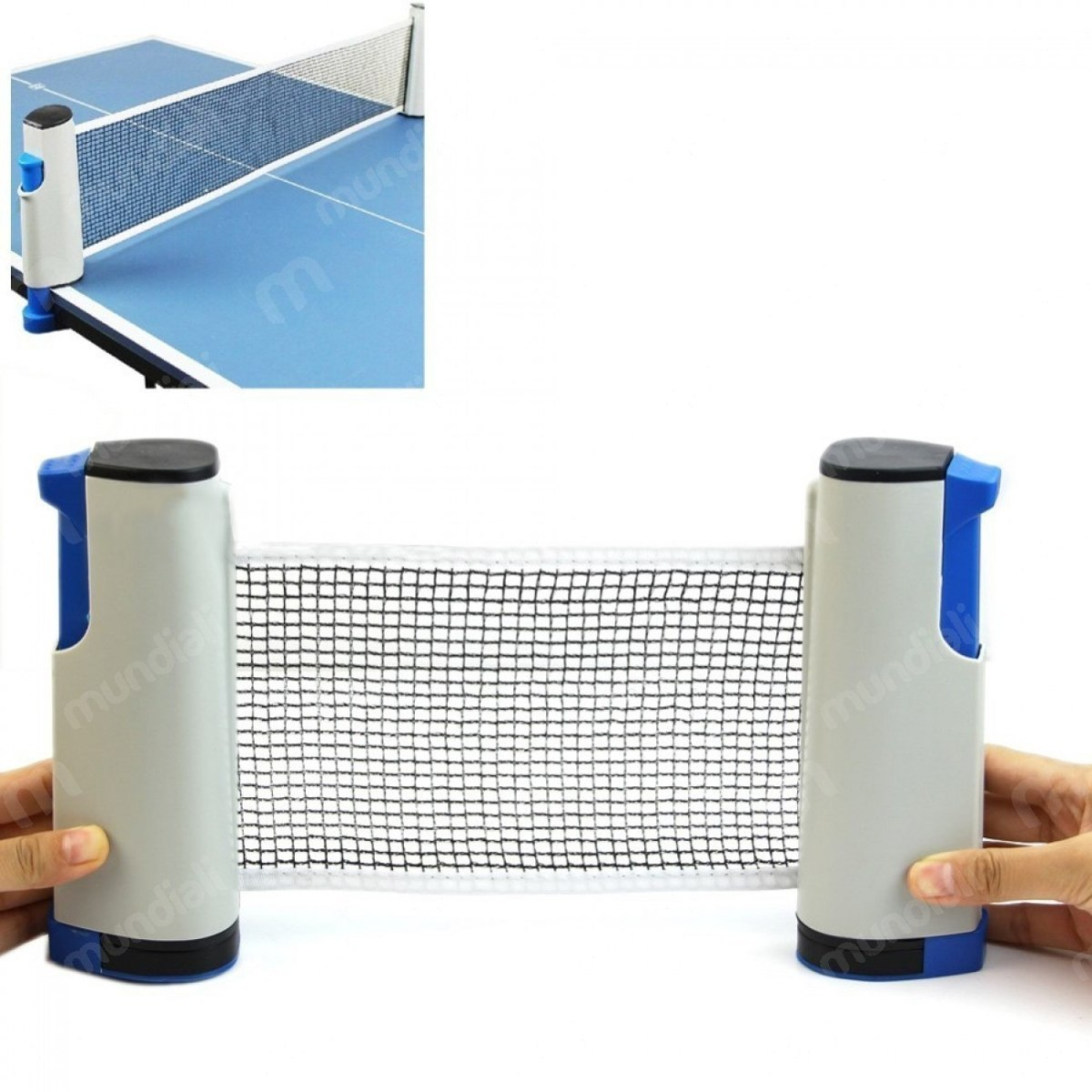 5f0b81eda Rede Retratil Para Ping Pong  tenis De Mesa Com 1