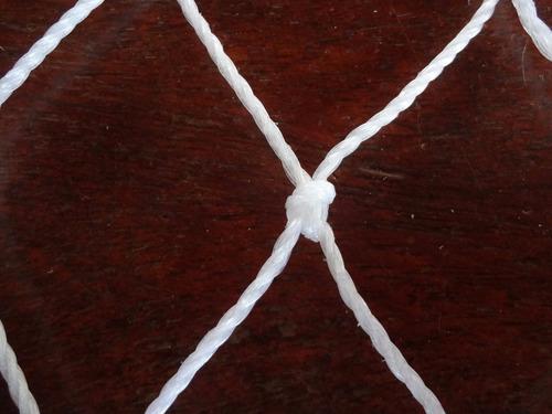 rede tela de proteção c/ corda