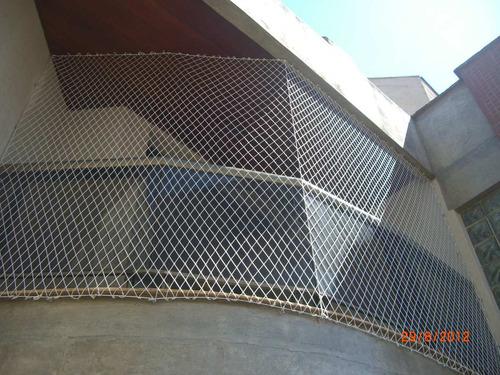rede tela de proteção equiplex janela sacada cor areia