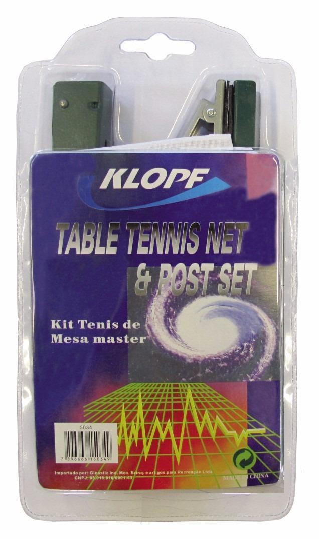 9cc446f03 rede tenis de mesa c  suporte tipo jacaré oficial klopf 5034. Carregando  zoom.