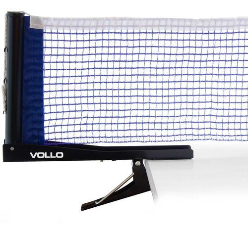 rede tênis de mesa vollo vt605 suporte alicate ping pong