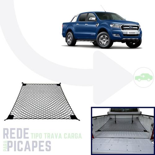 rede trava carga caçamba picape ford ranger todas versões