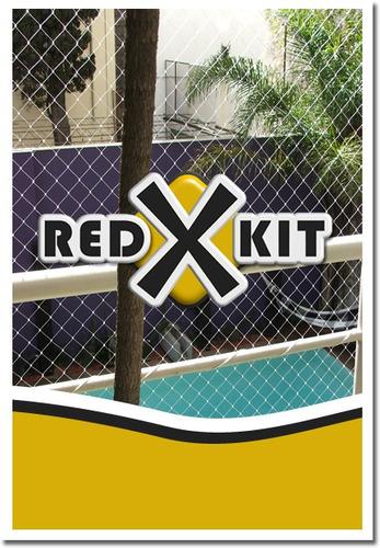 redes anti plagas palomas murciélagos balcon  ventana kit