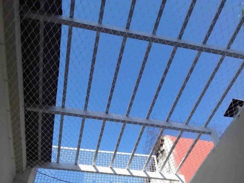 redes cerramiento, balcon, ventana, palomas redes de nylon.