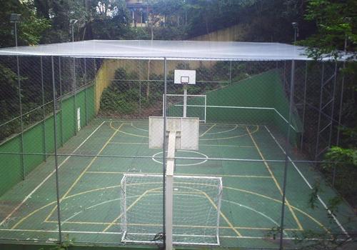 redes cerramiento perimetral canchas. contencion pelotas