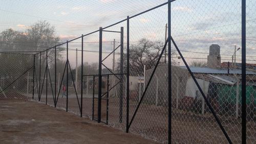 redes de contención- fútbol- deportivas-techos canchas