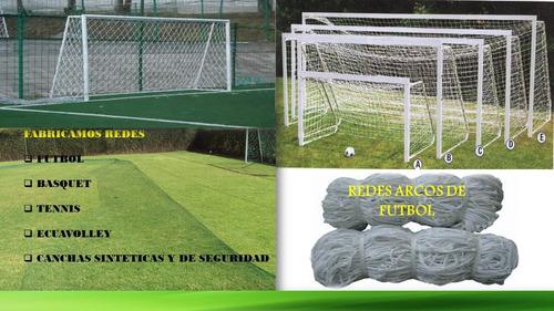redes de nylon para arcos de fútbol en toda medida en quito