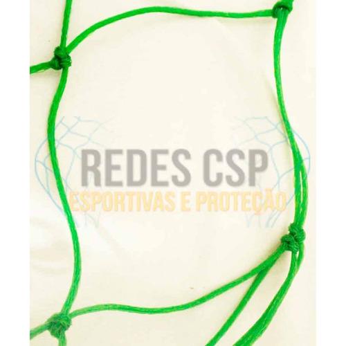 redes de proteção fio 4mm lateral teto campo quadra society