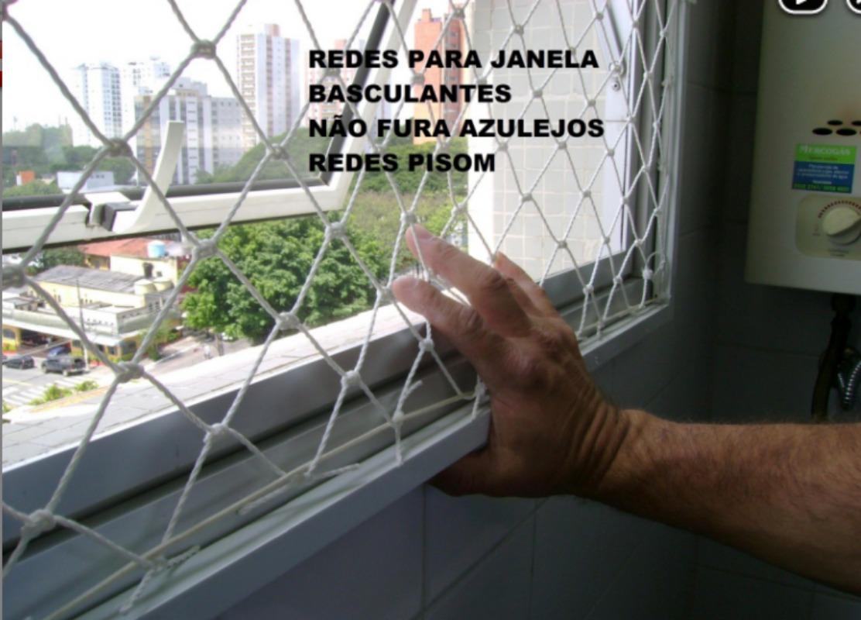 07b0babb1 Redes De Proteção Para Janelas Basculante - R$ 120,00 em Mercado Livre