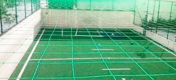 47e5fbc6d0aa6 Redes De Proteção Quadra De Futsal Fio 2 Malha 15cm - R  1