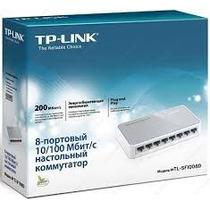 Switch De Escritorio 8 Puertos Tp Link 10/100 Tl-sf1008d