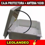 Antena 16dbi Caja Estanca Exteriores Internet Gratis Soporte