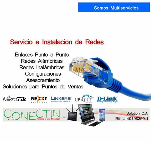 redes inalambricas, ptp, servicio tecnico y mas