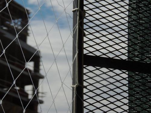 redes proteccion, balcon ventana paloma  transparentes niños