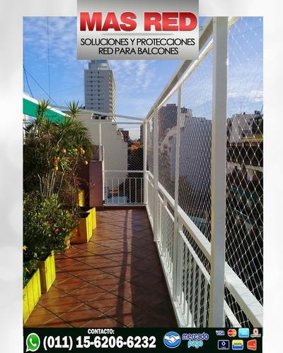 redes protección, balcón, ventanas, escaleras. rombo chico
