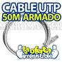 50 Metros Cable De Red Rj45 Cat 5e Con Sus 2 Conectores.