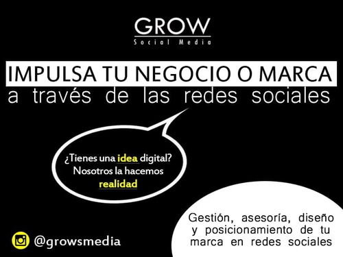 redes sociales diseño grafico