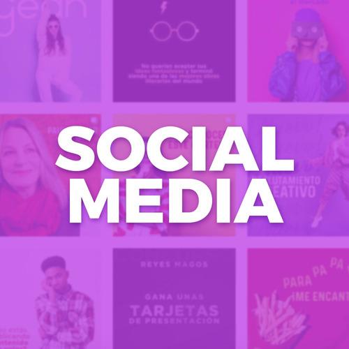 redes sociales diseño gráfico página web marketing digital