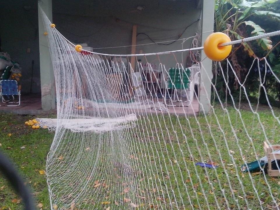Gril redes de pesca