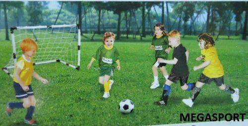 redes y arcos de futbol armables para niños