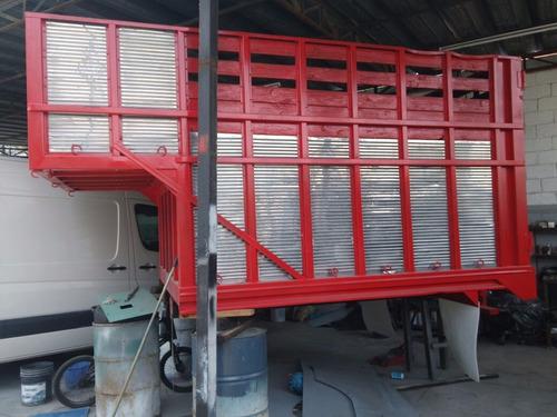 redilas ganaderas con copete para camioneta ford o chevrolet