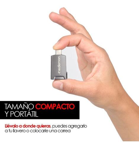 redlemon adaptador usb-c a hdmi plug & play portátil laptop
