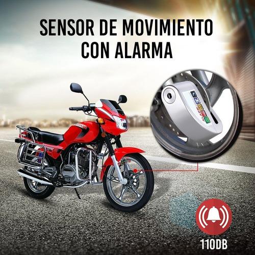 redlemon candado alarma para bicicleta y motocicleta sensor