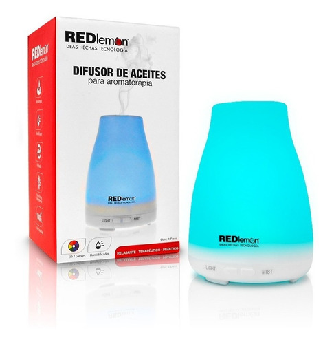 redlemon difusor aceites aromaterapia humidificador 100 ml