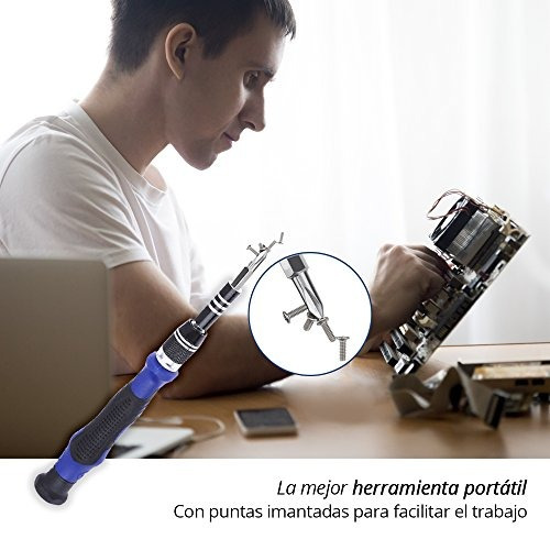 8cede3f7b07 Redlemon Kit De Desarmador De Precisión Portátil 54 En 1, P ...