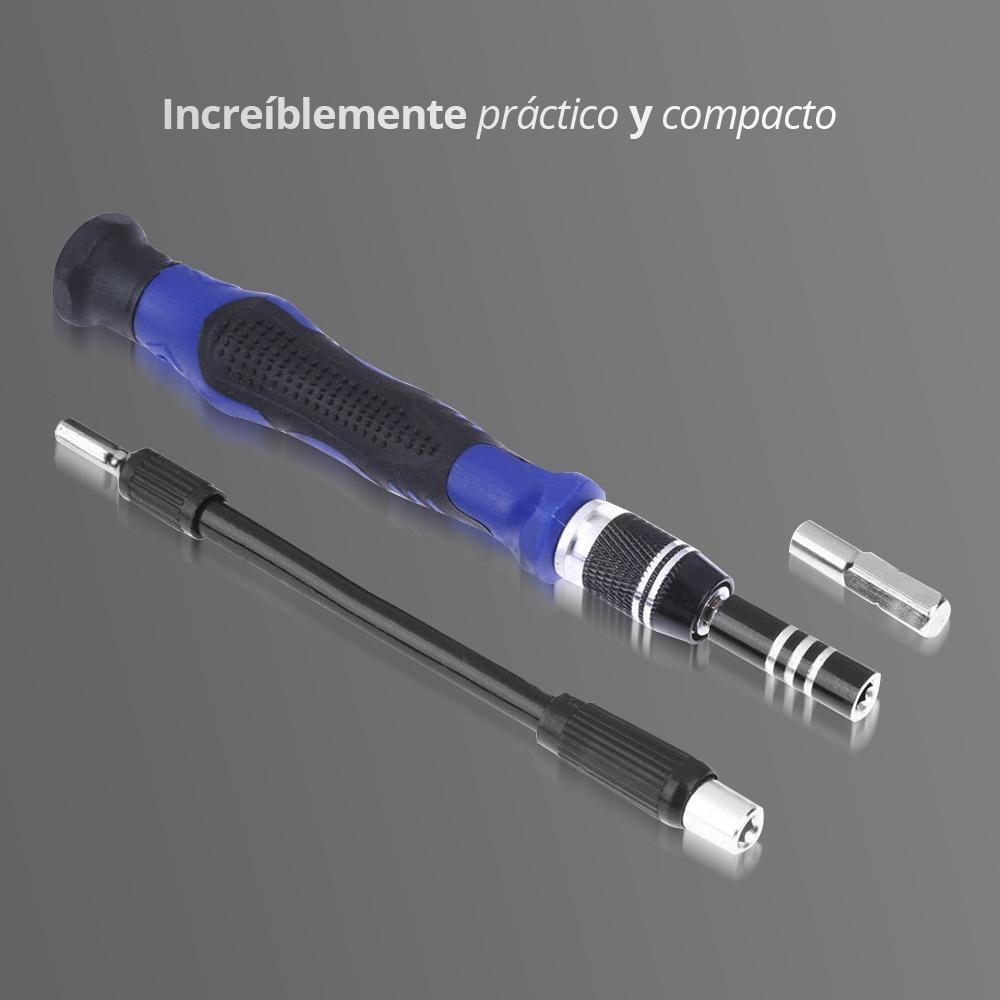 e8175390c6b redlemon kit desarmador 54 puntas intercambiables portátil. Cargando zoom.