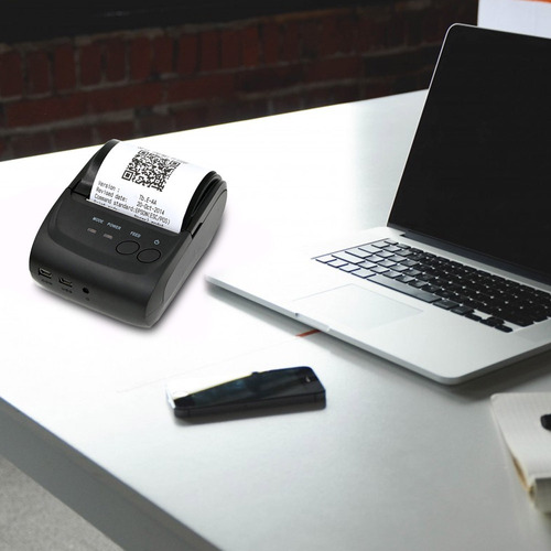 redlemon mini impresora termica portatil 58mm usb bluetooth