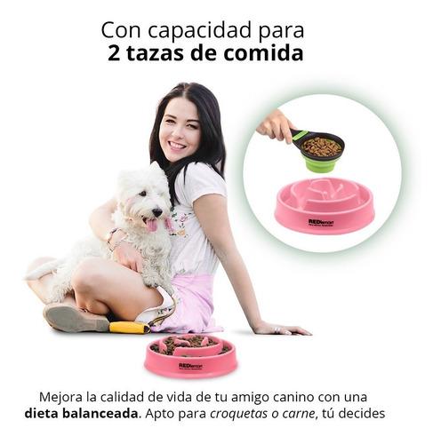 redlemon plato para perro slow feed alimentación lenta 2 tz