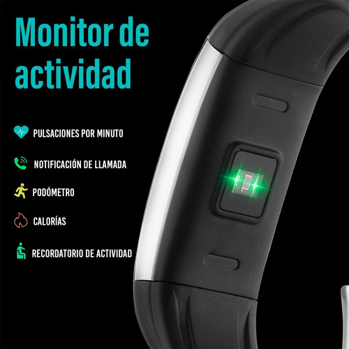 redlemon smart band watch inteligente ritmo cardíaco pasos