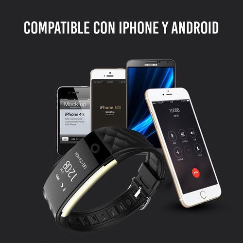 redlemon smart band watch inteligente ritmo cardíaco pasos