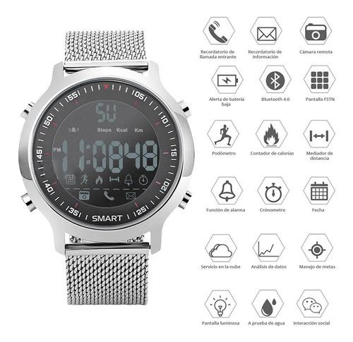 redlemon smartwatch ex18 podómetro contador calorías digital