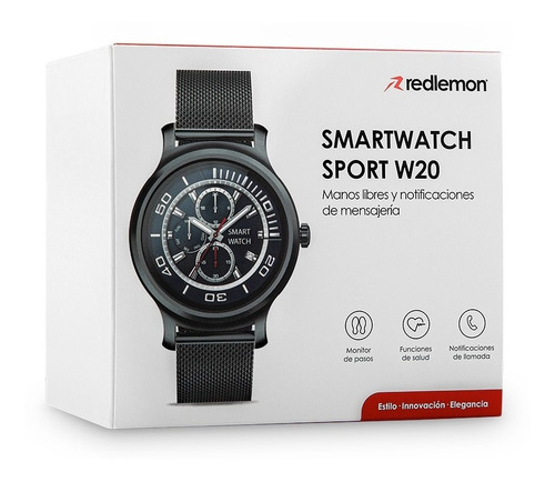 redlemon smartwatch premium monitor ritmo cardiaco presión