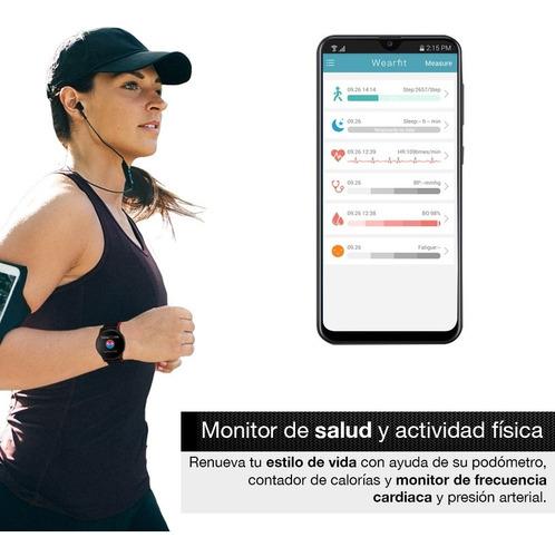 redlemon smartwatch sport bluetooth 3 correas contra agua
