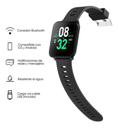 redlemon smartwatch sport ritmo cardiaco ios/android w10