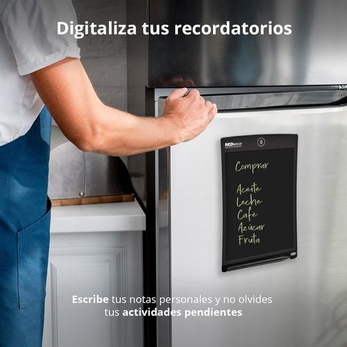 redlemon tablet escritura lcd pizarrón mágico refrigerador