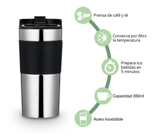 redlemon termo para café con prensa francesa 350ml portátil