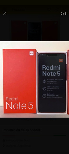 redmi note 5, memoria64gb ram4gb (150)ubicación caracas