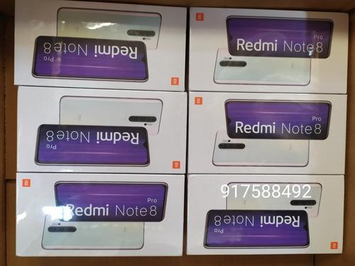 redmi note 8 pro 128gb/6gb global version blanco