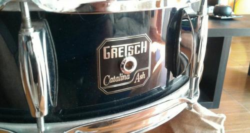 redoblante gretsch catalina ash, como nuevo!