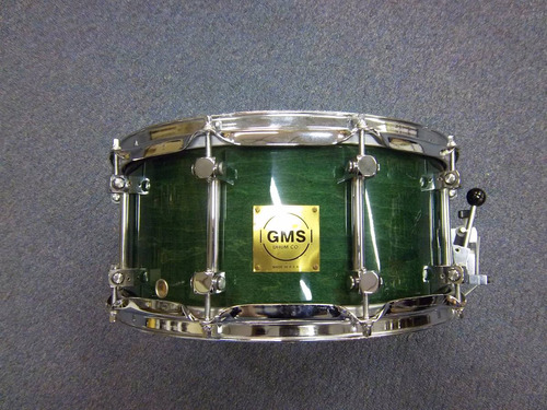 redoblante tambor gms grand master 14 x 6. made in usa !!!!!