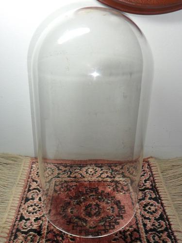 redoma em vidro (us excelente estado) 14x27 relogio 400 dias