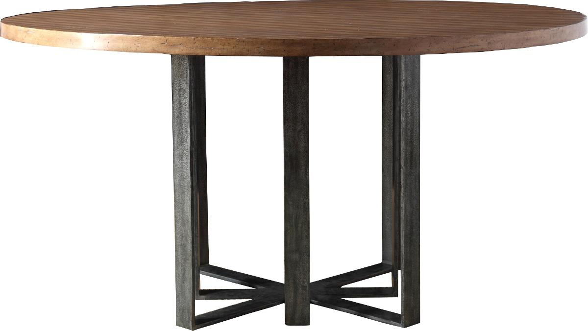 redonda madera mesa comedor