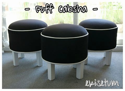 Puff Redondo Butaquita Diseño Ekisetum Muebles - $ 1.450,00 en ...