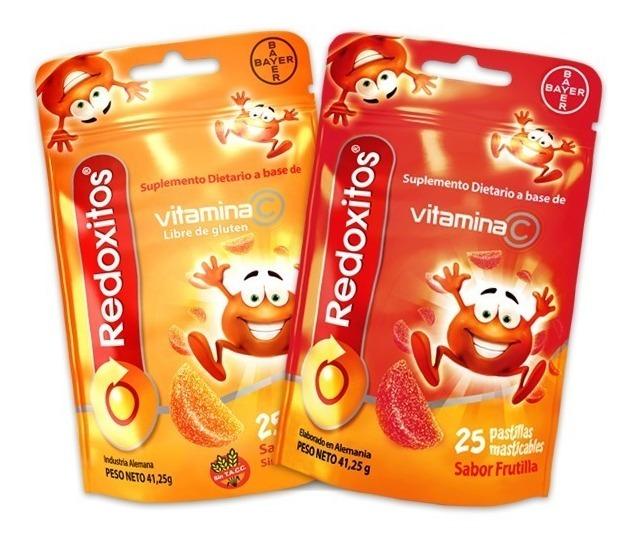 dbeed9eebcb3 Redoxitos Vitamina C Frutilla X 25 Gomitas Magistral Lacroze