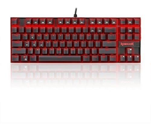 redragon k552 kumara led retroiluminado teclado de juegos me