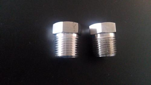 reducción bushing 1/2 npt a 3/8 npt de acero inoxidable 316